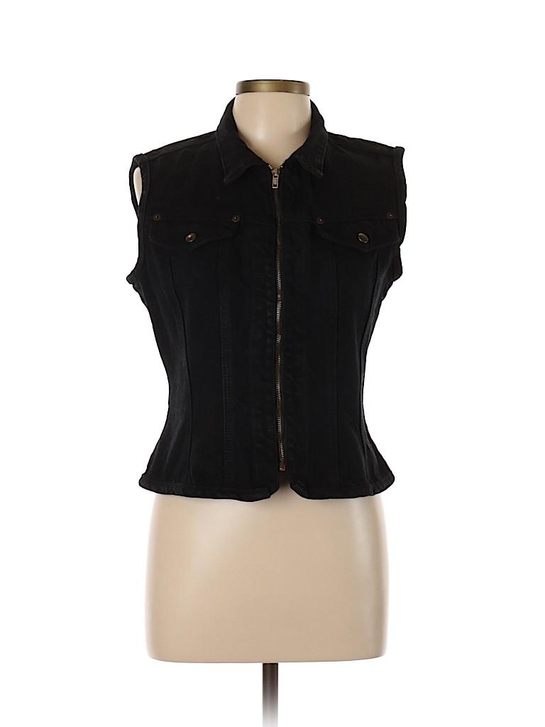 Paris Blues Women Denim Jacket Size L