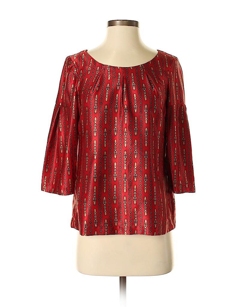 Banana Republic Factory Store Women 3/4 Sleeve Blouse Size XS