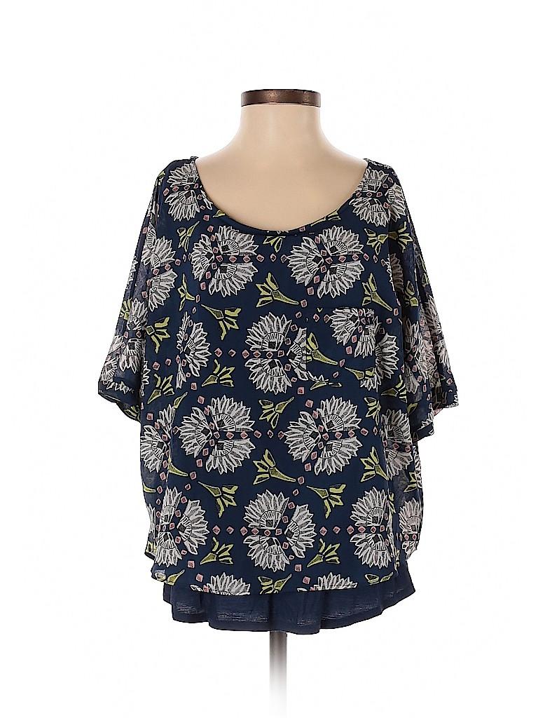 Meadow Rue Women Short Sleeve Blouse Size XS