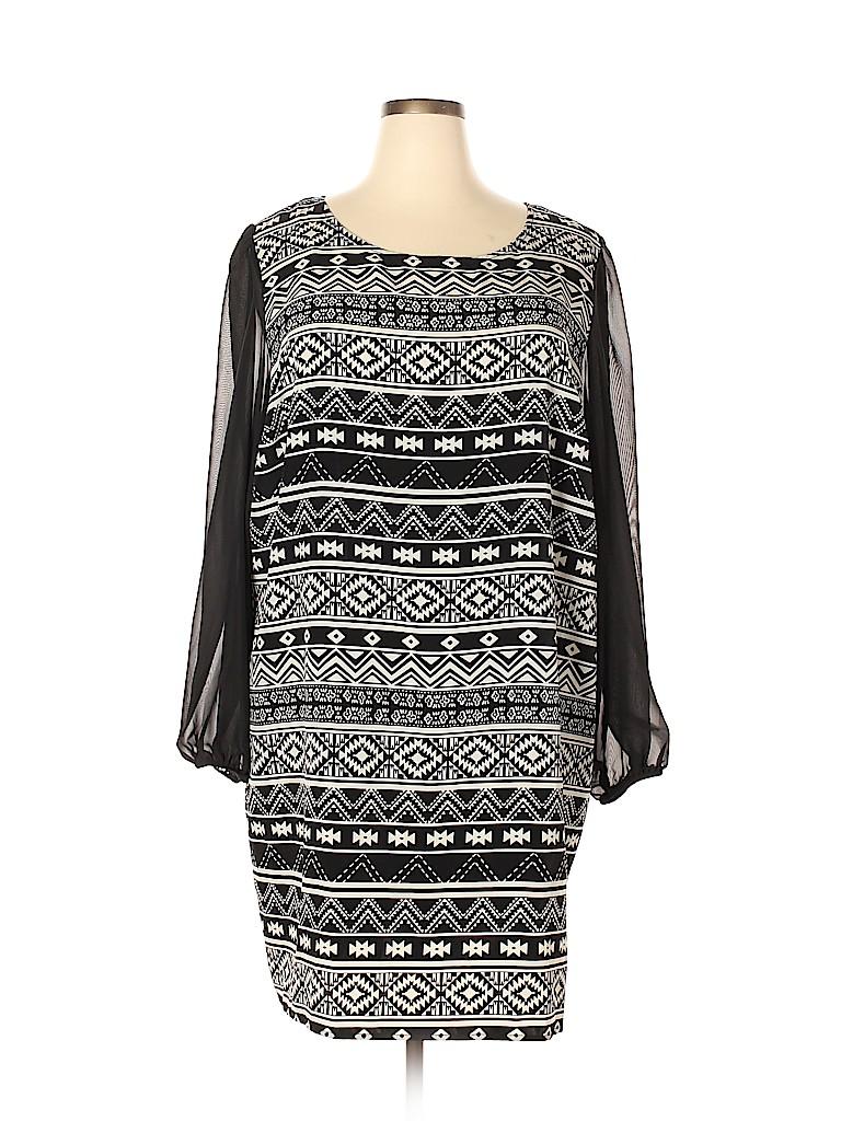 Speechless Women Casual Dress Size 3X (Plus)