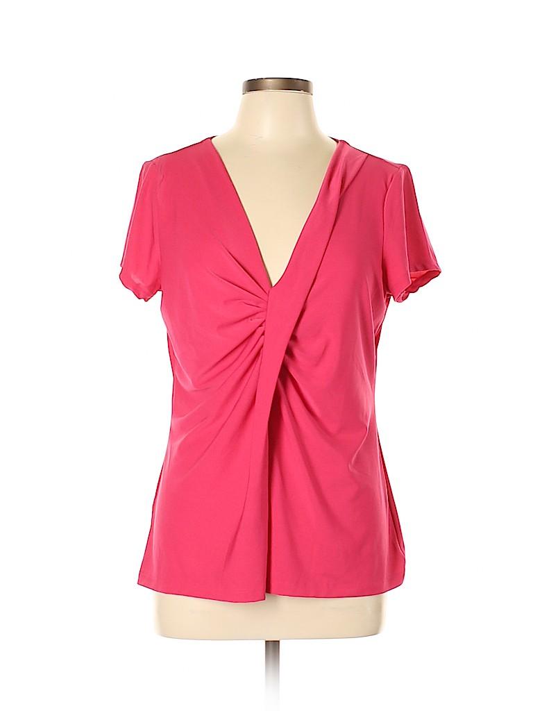 Avon Women Short Sleeve Top Size L