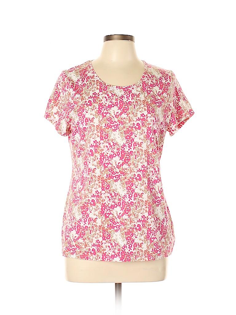 Madison Women Short Sleeve T-Shirt Size L
