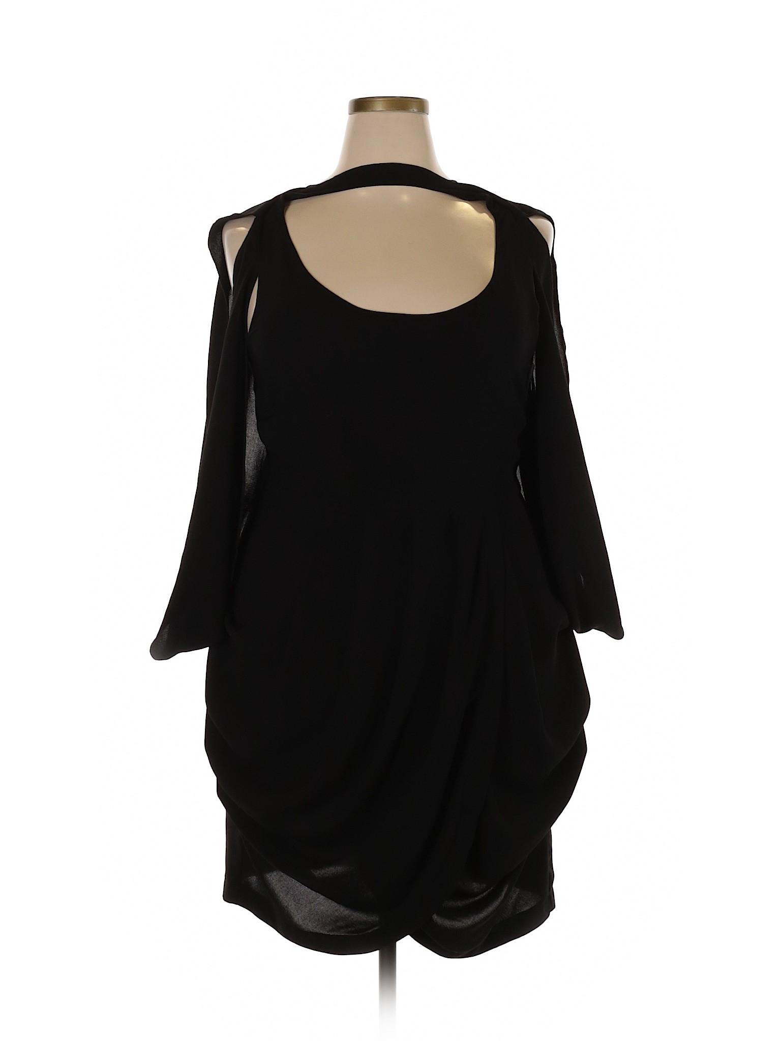 629cb55af8 Forever 21 Women Black Cocktail Dress 1 X Plus