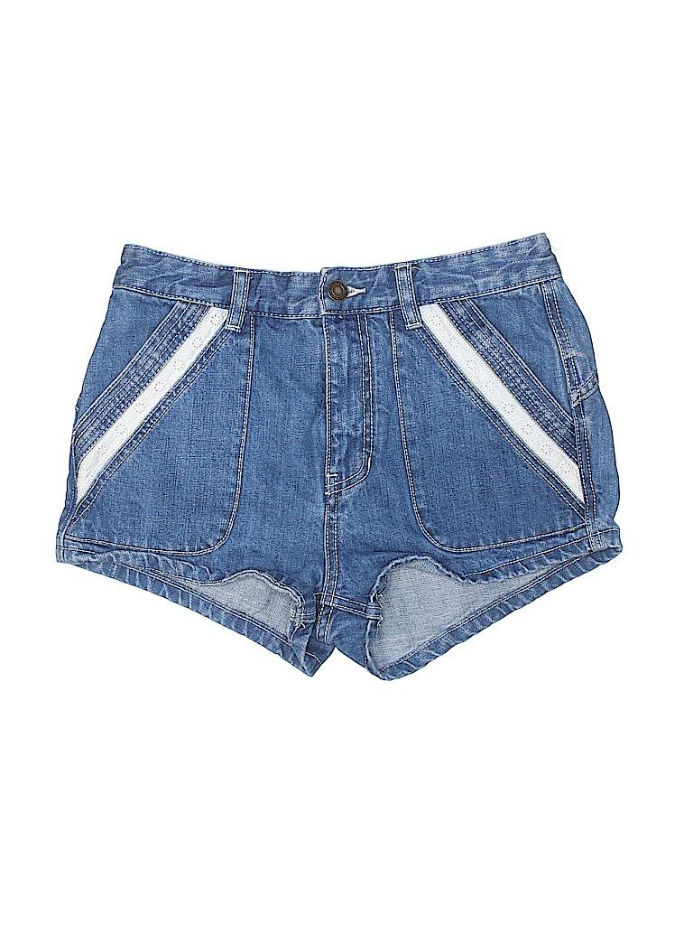 Free People Women Denim Shorts 27 Waist