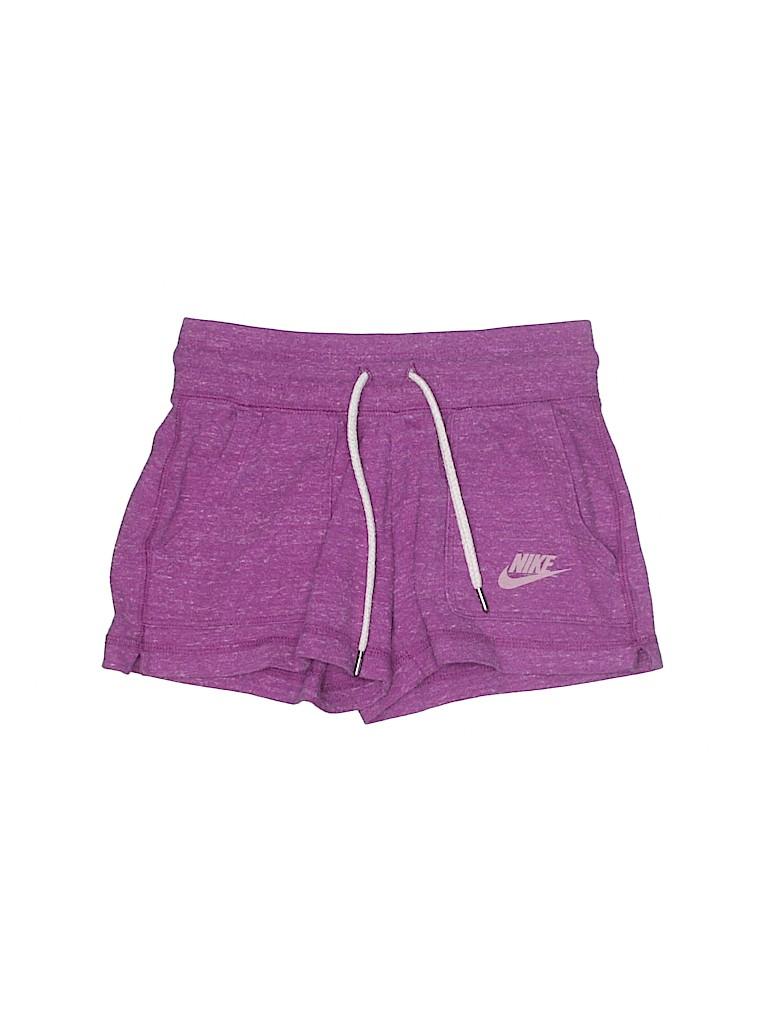 Nike Girls Athletic Shorts Size S (Kids)