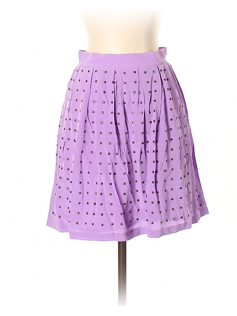 Rebecca Minkoff Women Silk Skirt Size 2