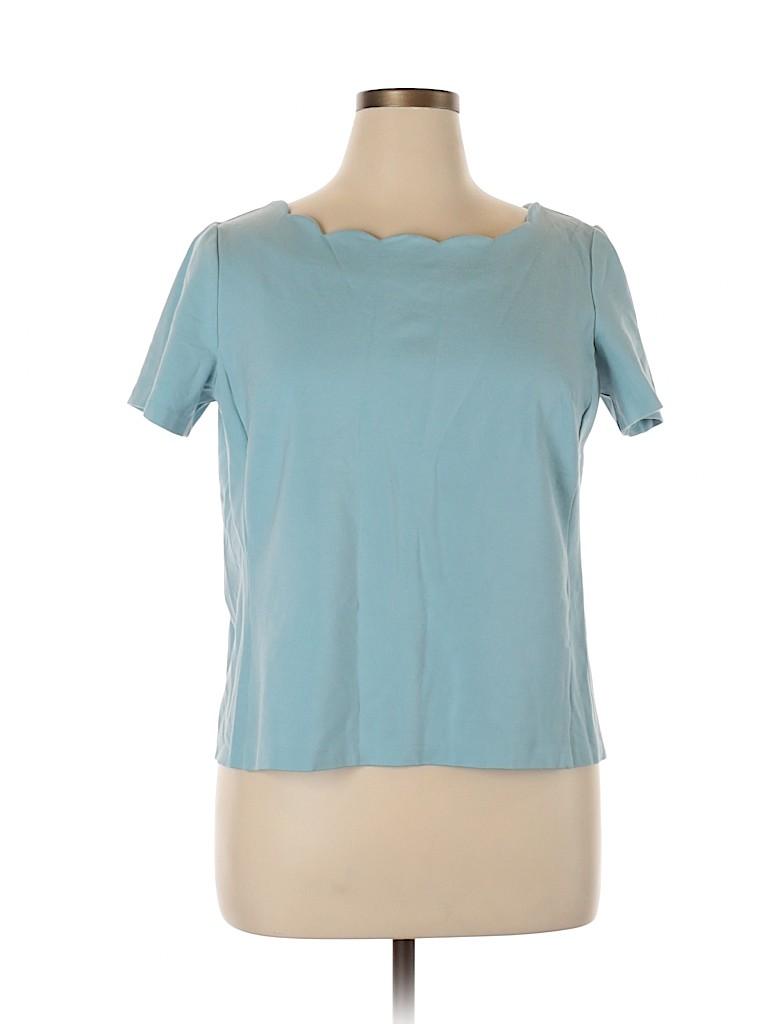 Talbots Women Short Sleeve Top Size 1X (Plus)
