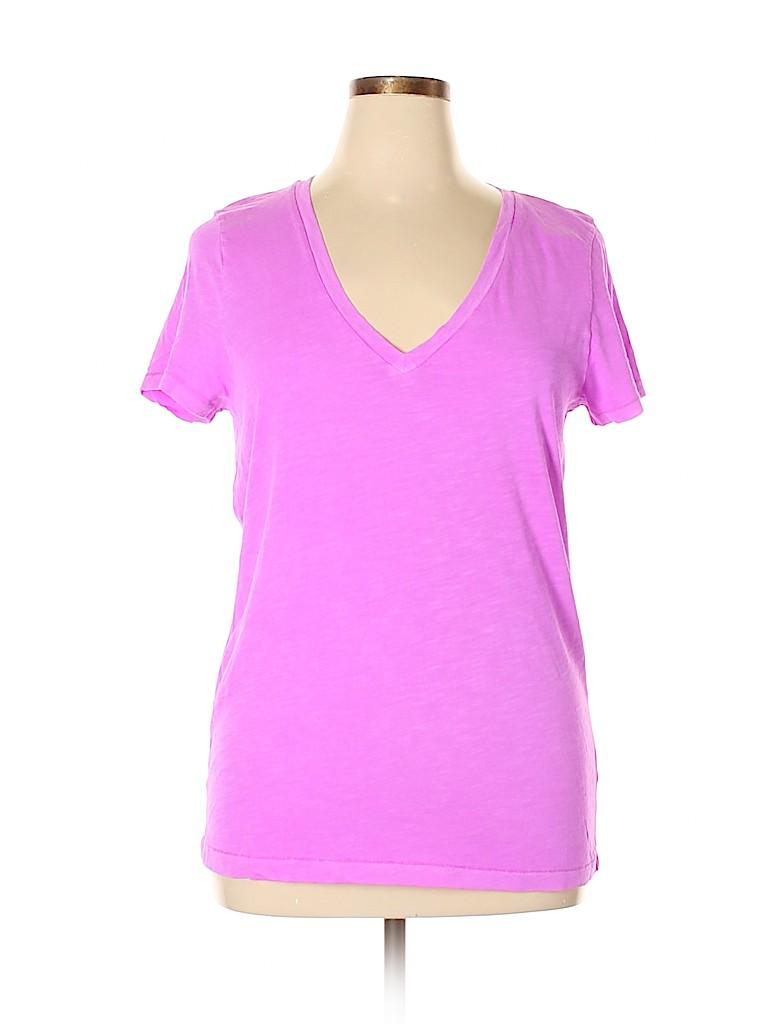 J. Crew Women Short Sleeve T-Shirt Size XXL
