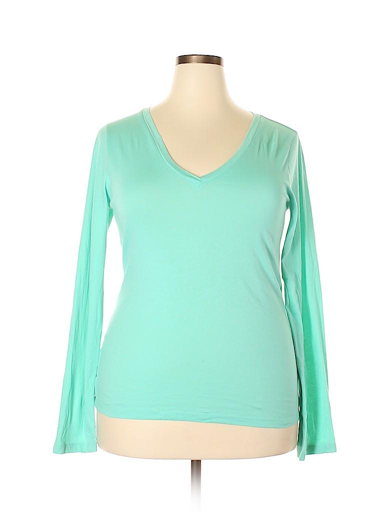 J. Crew Women Long Sleeve T-Shirt Size XXL