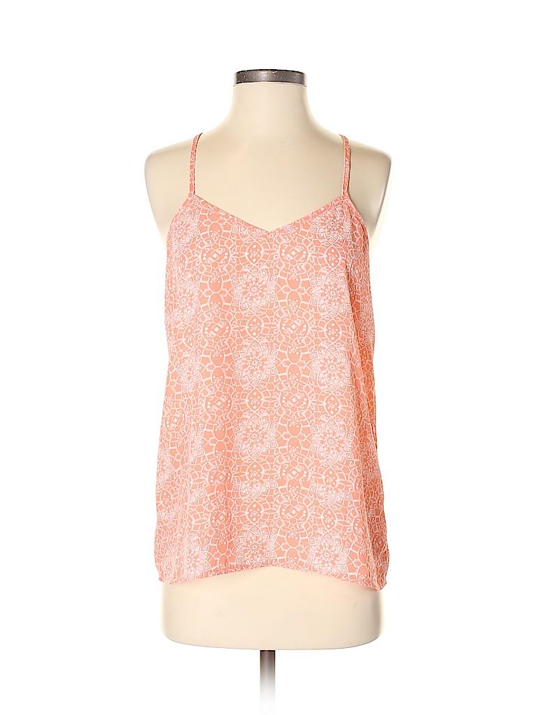 Paper Crane Women Sleeveless Blouse Size S