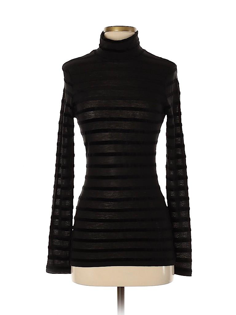 BCBGMAXAZRIA Women Long Sleeve T-Shirt Size XXS