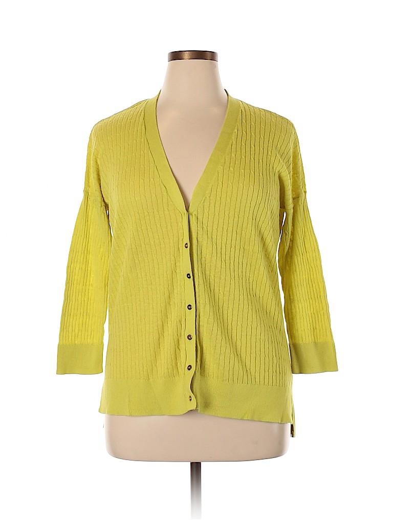 Jcpenney Women Cardigan Size 1X (Plus)