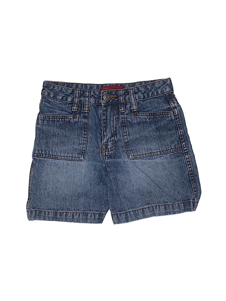 Arizona Jean Company Boys Denim Shorts Size 10