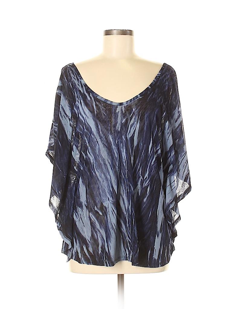 Vivienne Vivienne Tam Women 3/4 Sleeve Top Size L