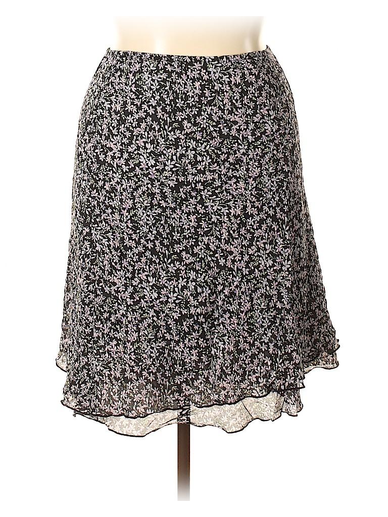 I.N. Studio Women Casual Skirt Size 1X (Plus)
