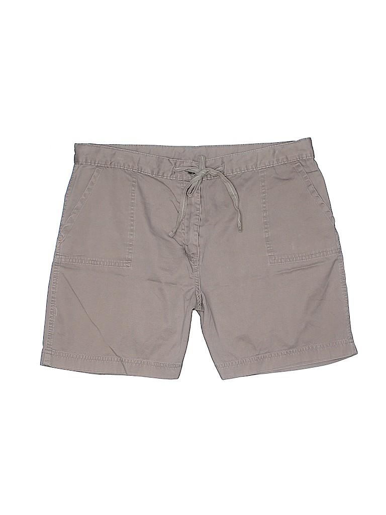 Style&Co Women Khaki Shorts Size 14