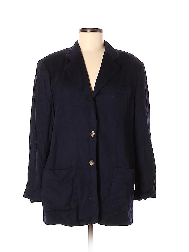 Escada Sport Women Wool Blazer Size 40 (EU)