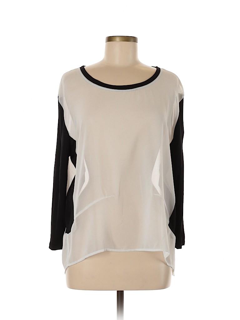 MNG Suit Women 3/4 Sleeve Blouse Size M