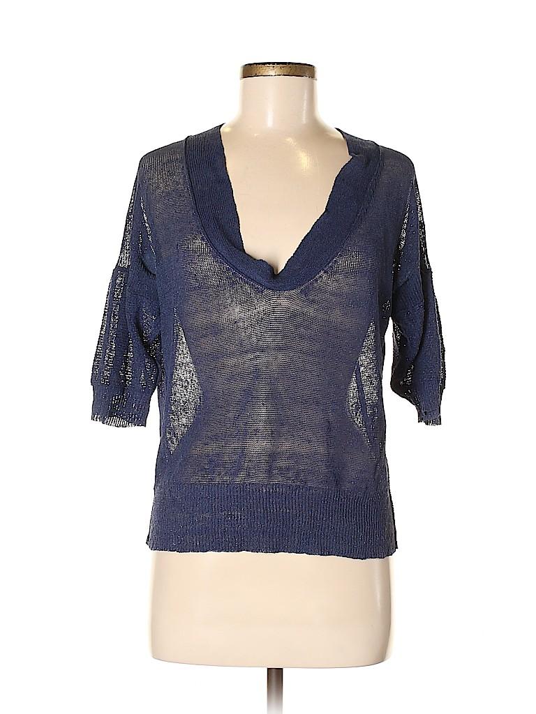 Jodi Arnold Women Short Sleeve Top Size 4