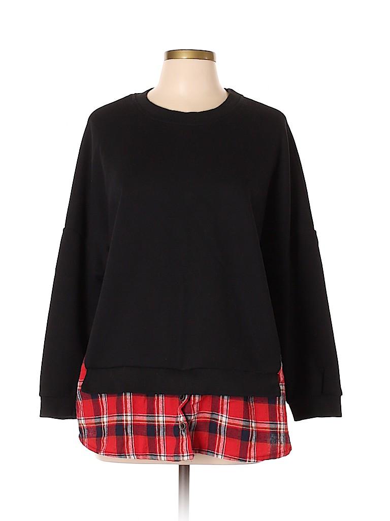 Amaryllis Women Sweatshirt Size XL
