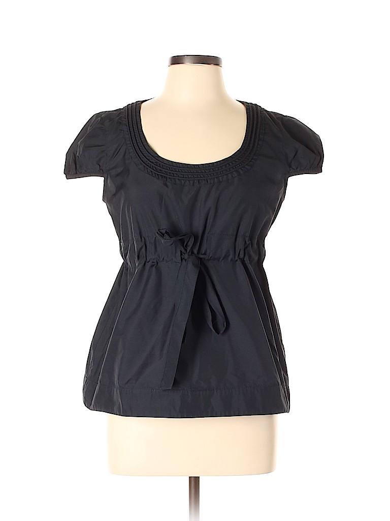 Cynthia by Cynthia Rowley Women Short Sleeve Blouse Size 10