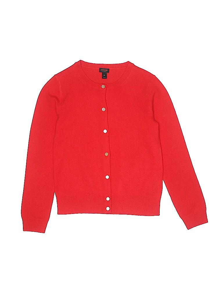 Crewcuts Girls Cashmere Cardigan Size 12