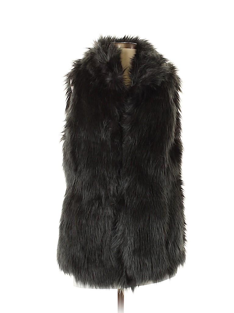 Ann Taylor LOFT Women Faux Fur Vest Size XS - Sm
