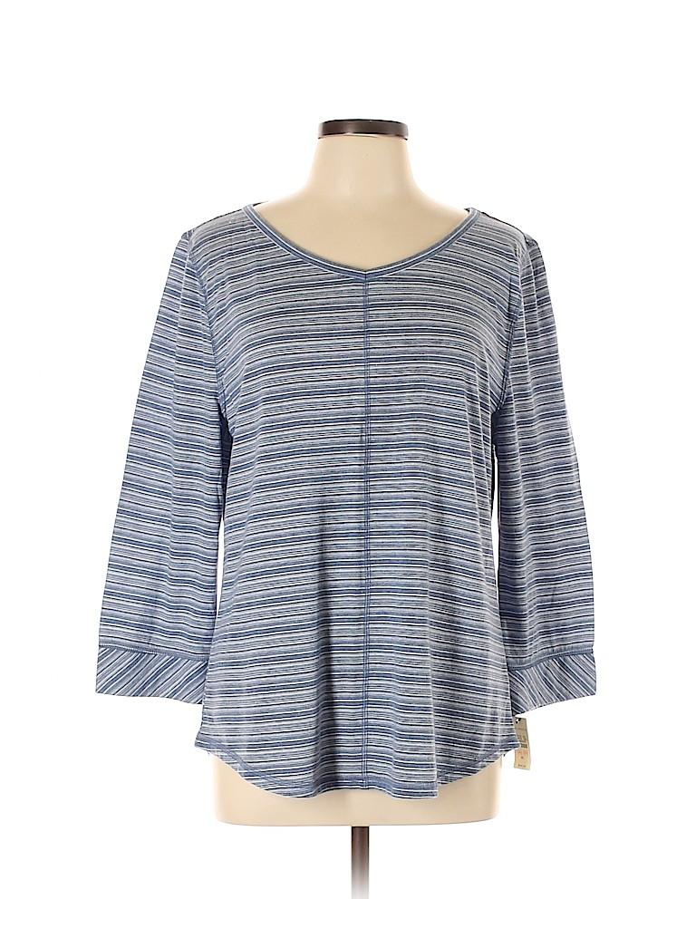 Talbots Women 3/4 Sleeve T-Shirt Size XL