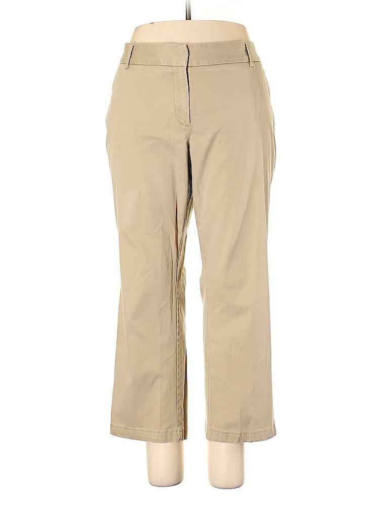 Lands' End Women Khakis Size 20 (Plus)