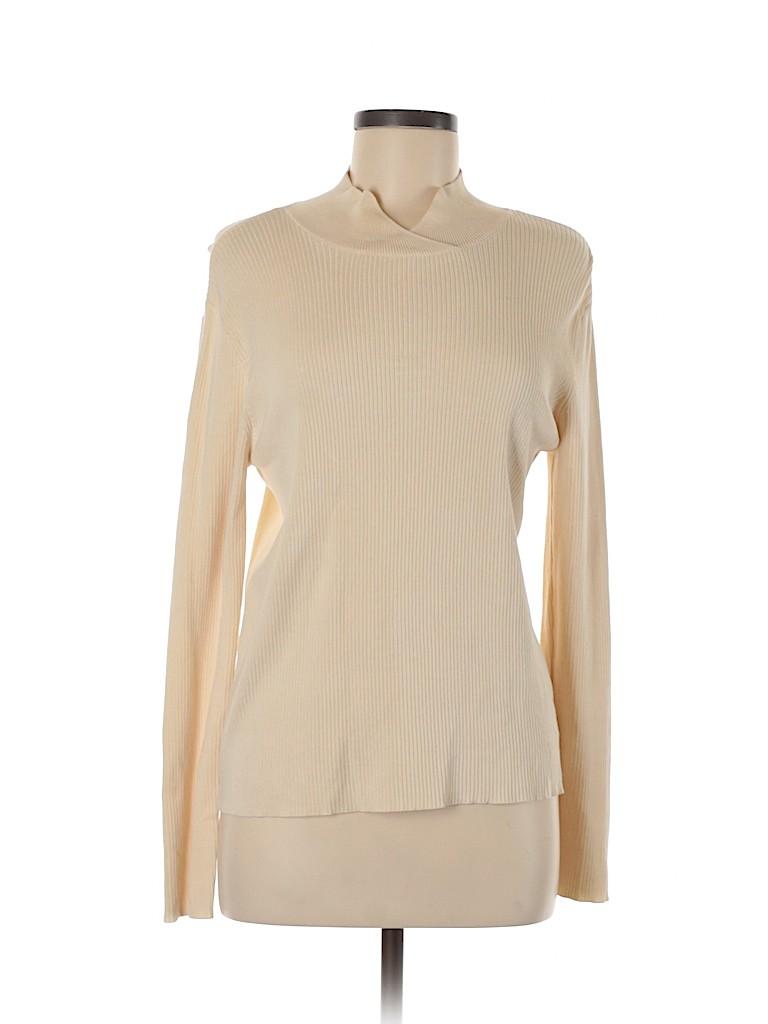 Link Women Silk Pullover Sweater Size M