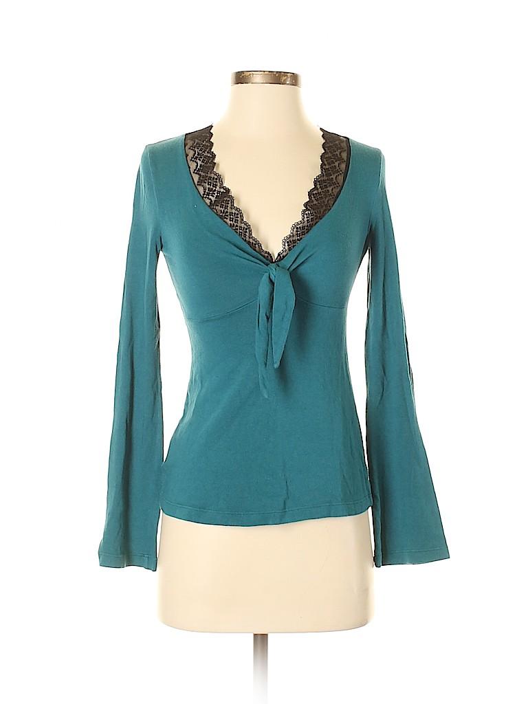 Ella Moss Women Long Sleeve Top Size XS