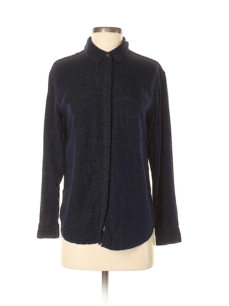 Treasure & Bond Women Long Sleeve Button-Down Shirt Size XS
