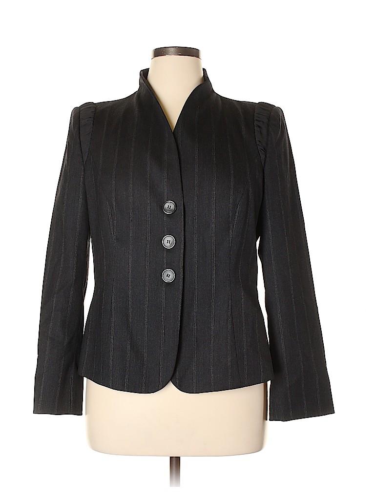Armani Collezioni Women Wool Blazer Size 16