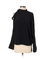 Robert Rodriguez Long Sleeve Silk Top