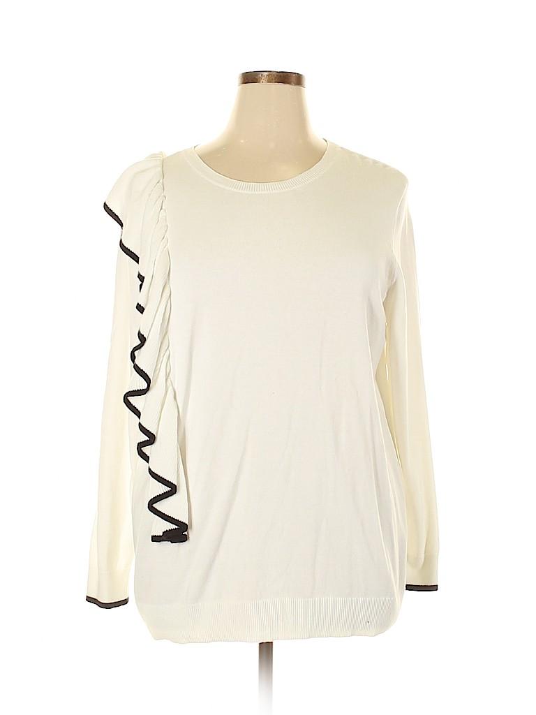Halogen Women Pullover Sweater Size XL (Petite)