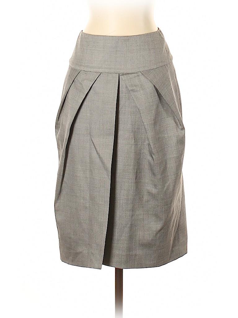 Giambattista Valli Women Wool Skirt Size 40 (IT)