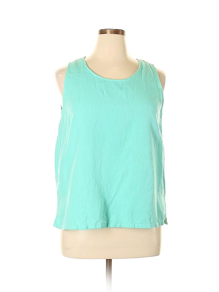 Hot Cotton Women Sleeveless Blouse Size 1X (Plus)