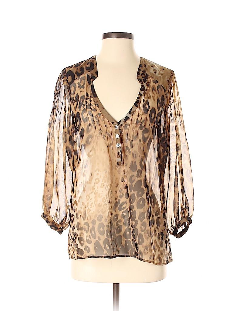Patterson J. Kincaid Women 3/4 Sleeve Blouse Size XS