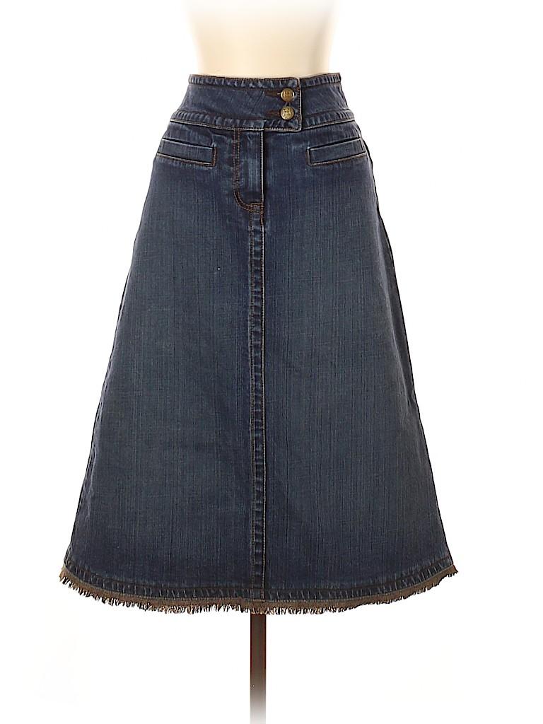 CAbi Women Denim Skirt Size 0