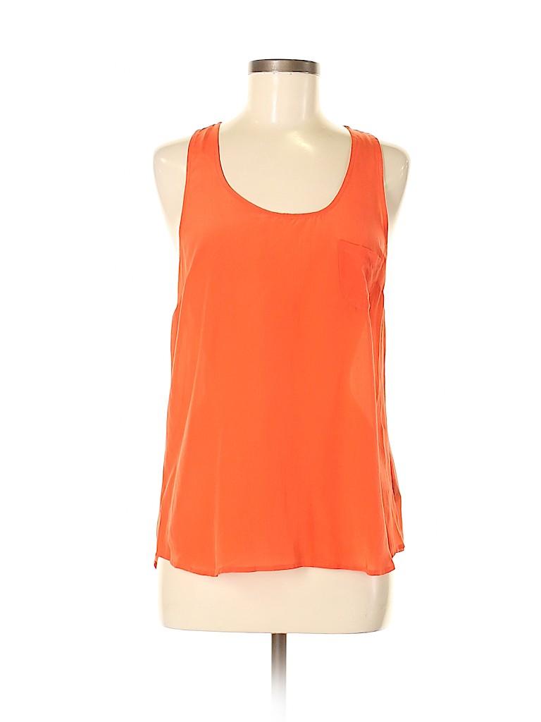 Fei Women Sleeveless Silk Top Size 8