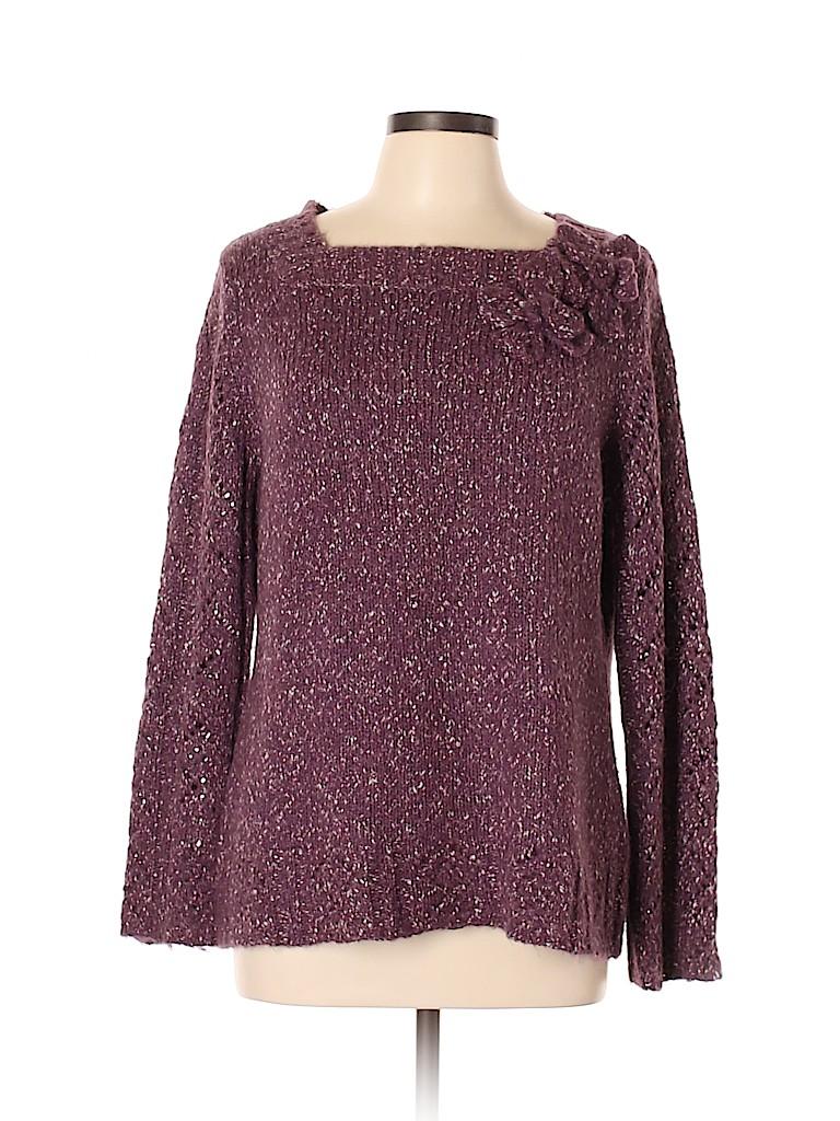 Susan Bristol Women Pullover Sweater Size L