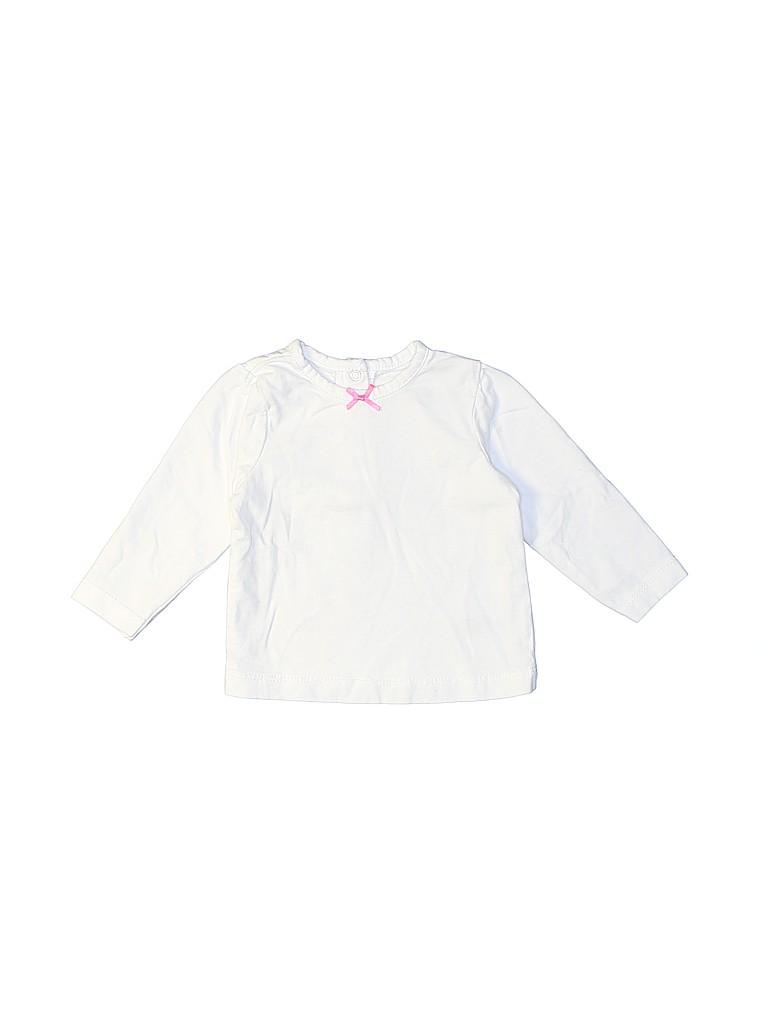 Little Me Girls 3/4 Sleeve Top Size M (Infants)