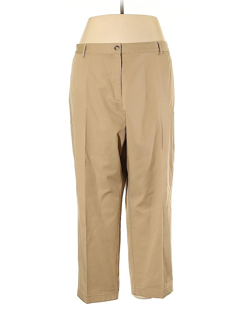 Lands' End Women Khakis Size 24W (Plus)
