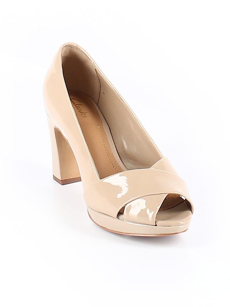 Clarks Women Heels Size 6 1/2