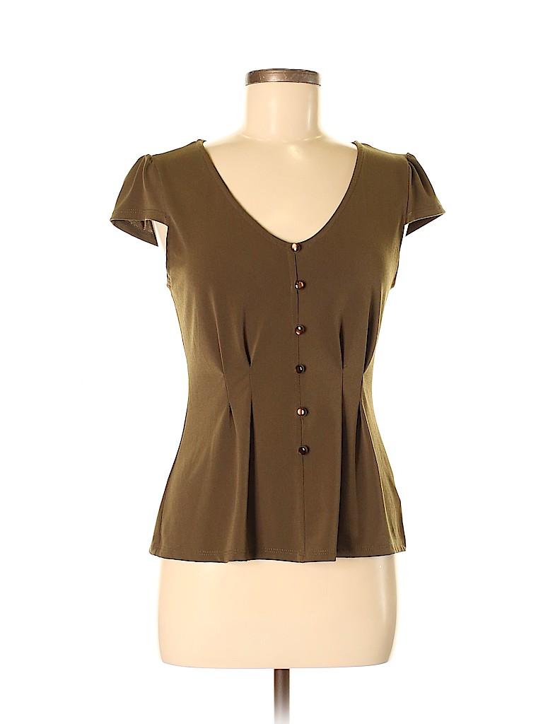 Fervour Women Short Sleeve Top Size M