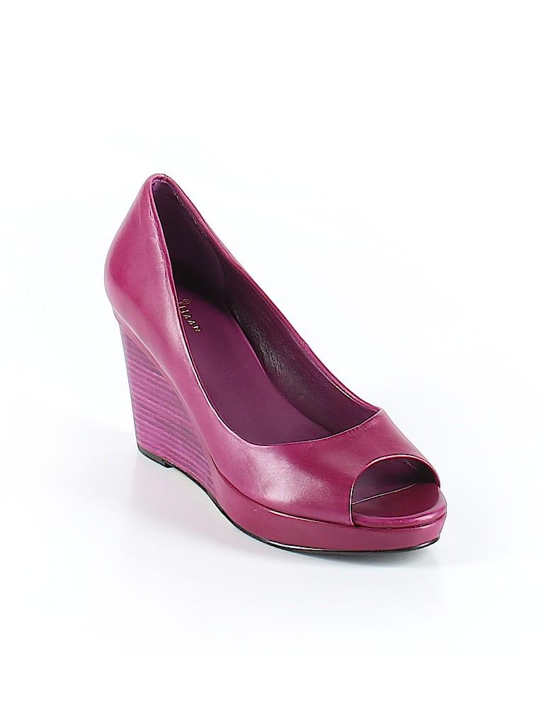 Cole Haan Purple Wedges Size 8 12 77 Off Thredup