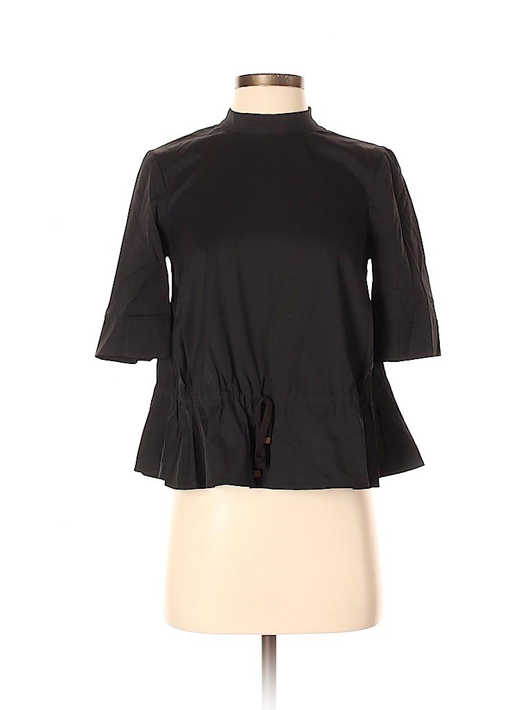 HD in Paris Women Short Sleeve Blouse Size 0