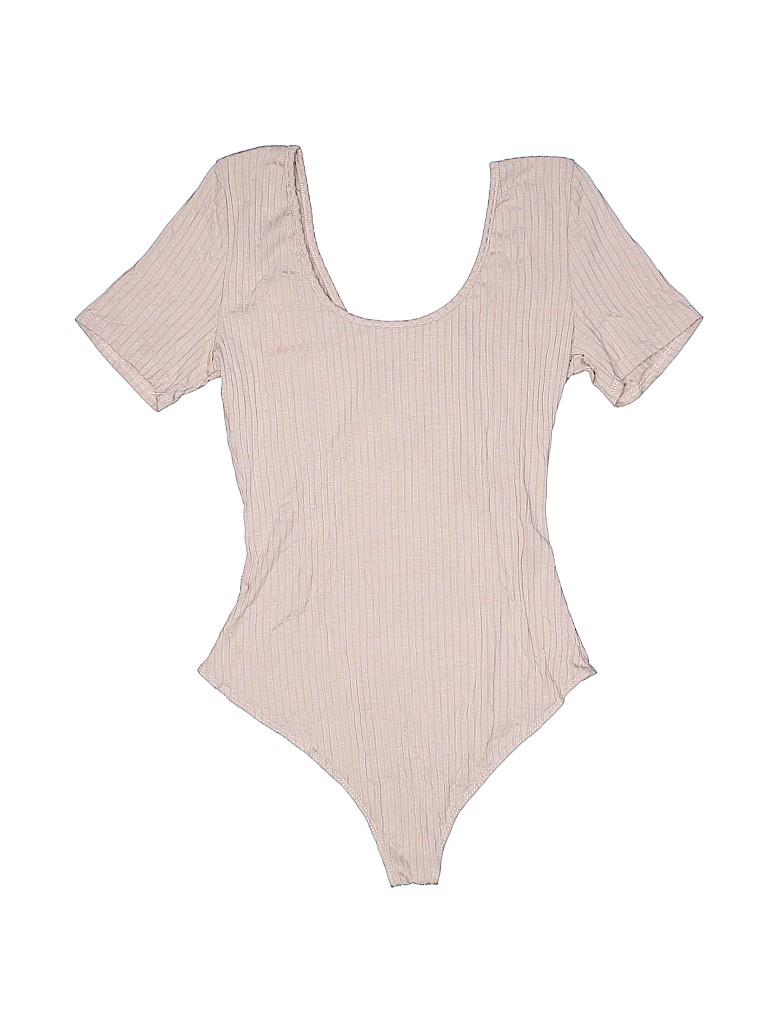 Charlotte Russe Women Short Sleeve Top Size M
