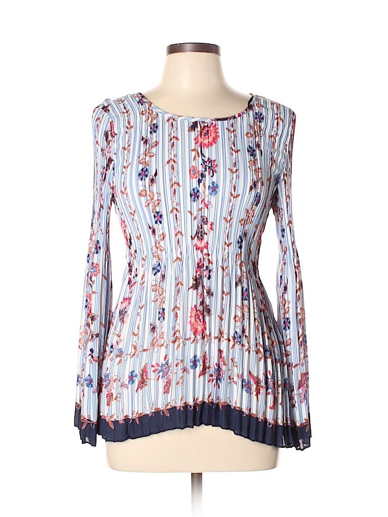 Melissa Paige Women Long Sleeve Blouse Size L