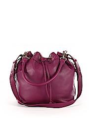 Ora Delphine Leather Bucket Bag